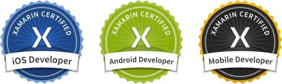 Xamarin certified partner