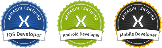 Xamarin certified partner