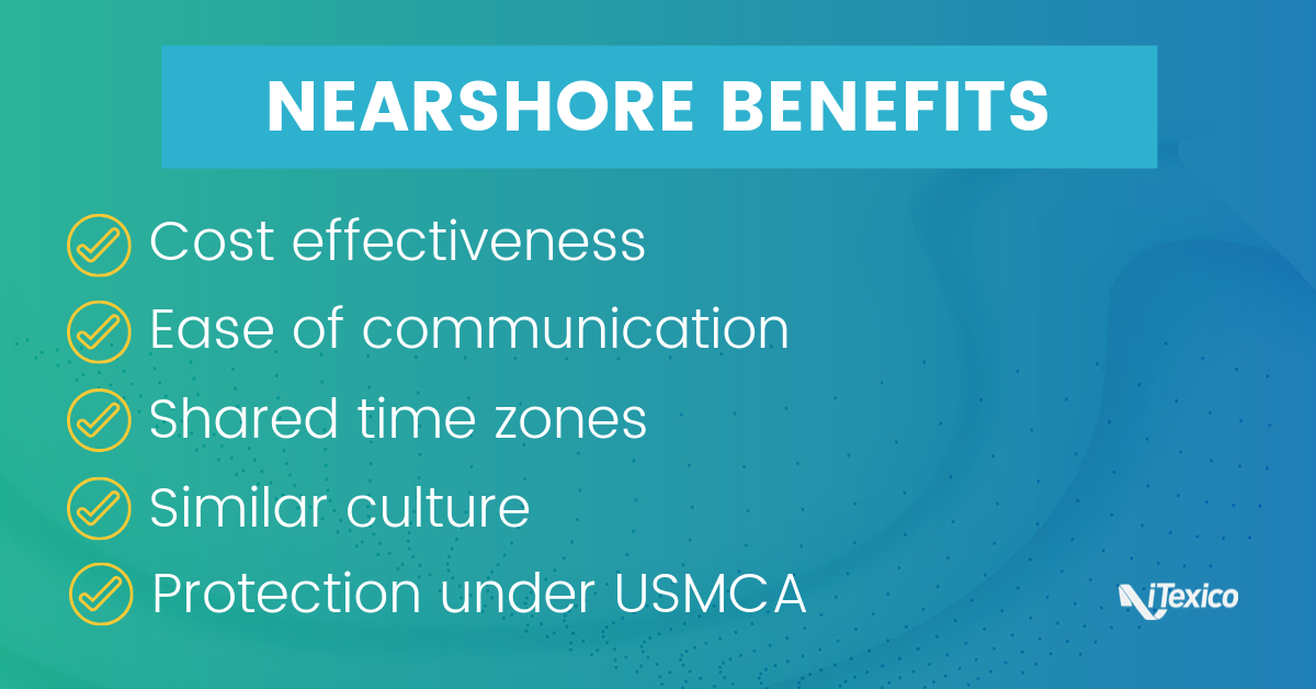 Benefits of Nearshore Outsourcing