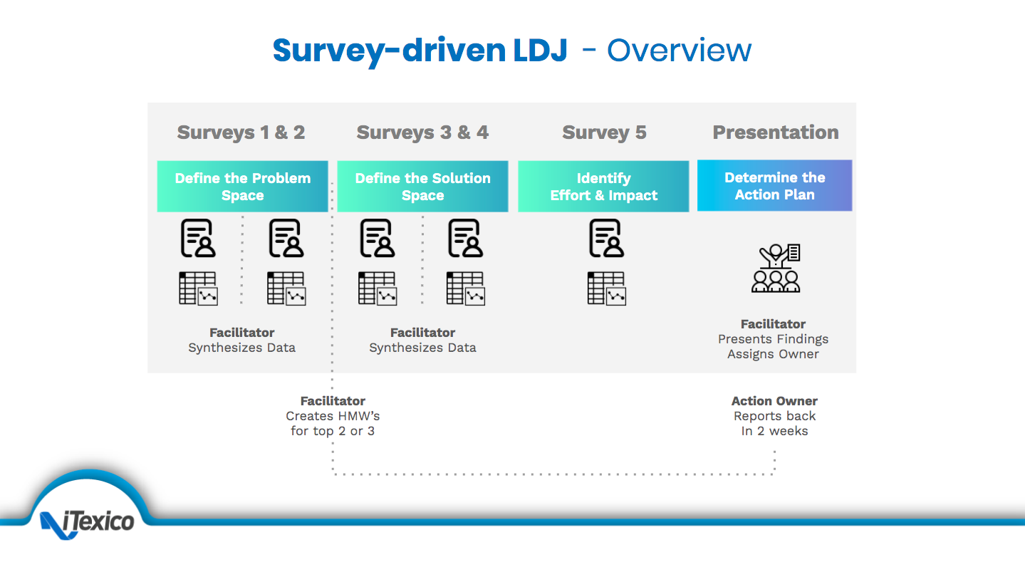 SURVEY DRIVEN LDJ OVERVIEW
