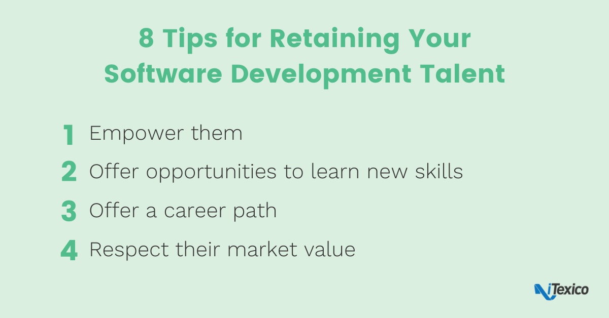 8 Tips for Retaining Software Development Talent