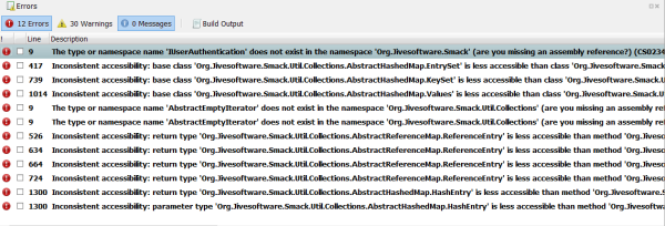 JAr files errors