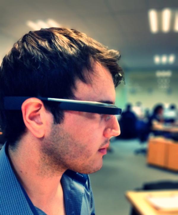 Testing google glass