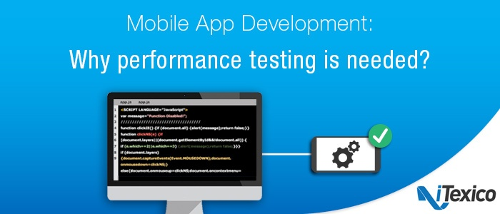 Mobile App Development Performance Testing