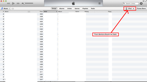 Selecting your device on itunes resized 600