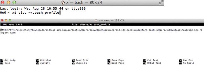 Setp 7 bash profile