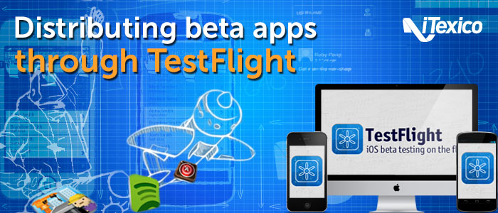Mobile development testing with testflight