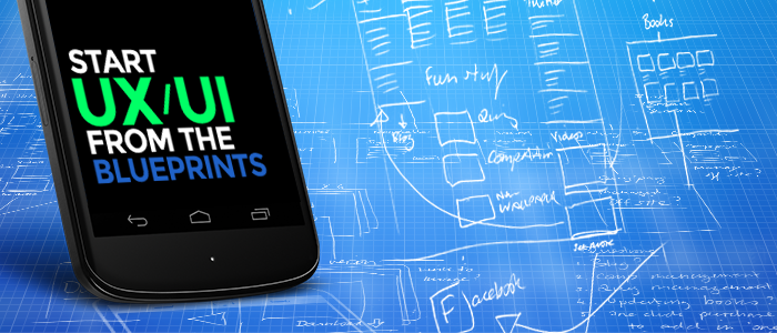 UI UX Blueprints for mobile development