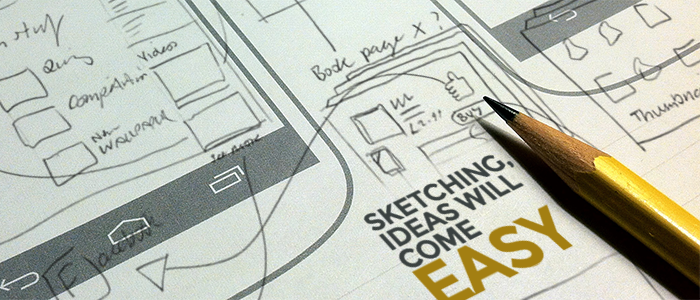 Sketching for mobile development