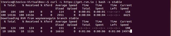 install rvm image
