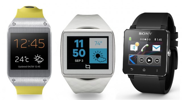 smartwatches samsung qualcomm sony