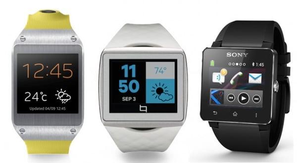 smartwatches samsung qualcomm sony