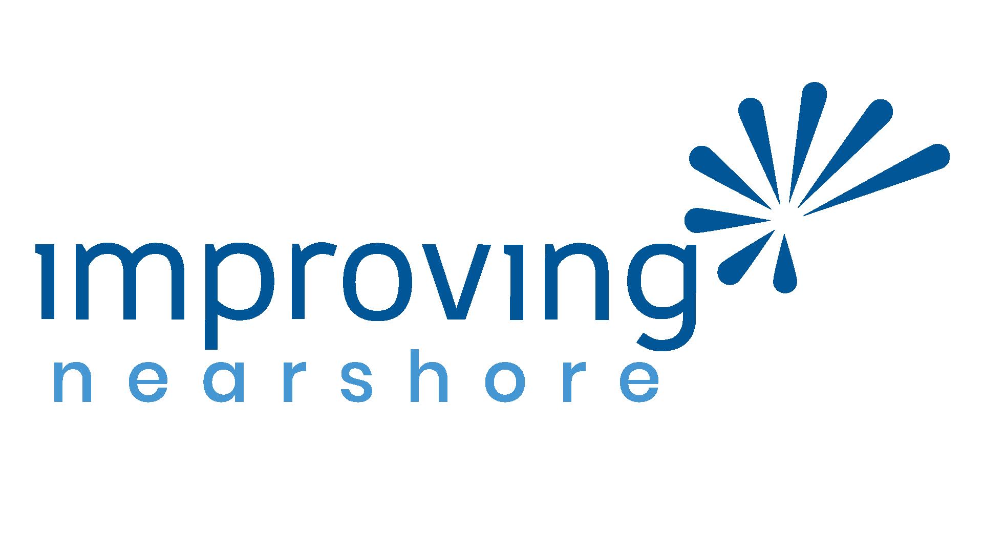 Improving Nearshore logo-blue