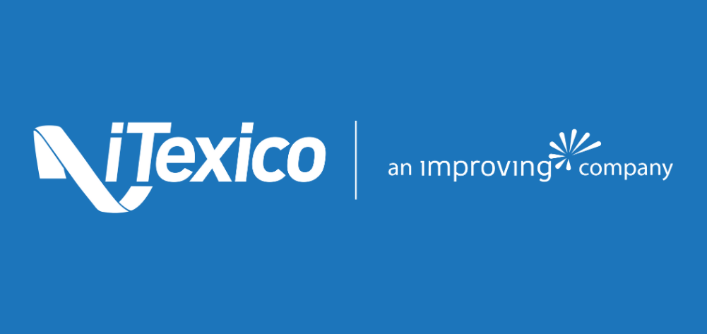iTexico Improving Tagline White