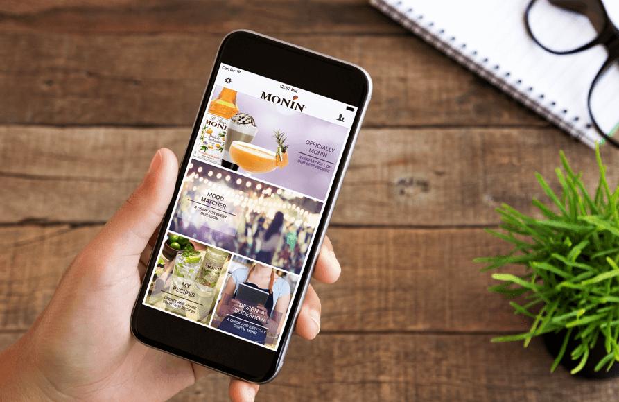 Monin App Image